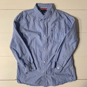 Tommy Hilfiger Blue Oxford Button Down Shirt - 7